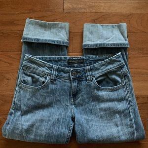 Banana Republic cropped cuffed jeans - sz 2